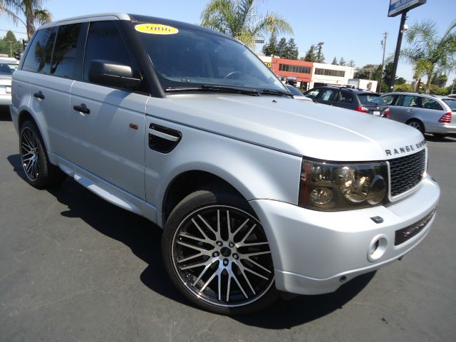 2006 LAND ROVER RANGE ROVER SPORT SUPERCHARGED 4DR SUV 4WD matte silver fully loaded california ve