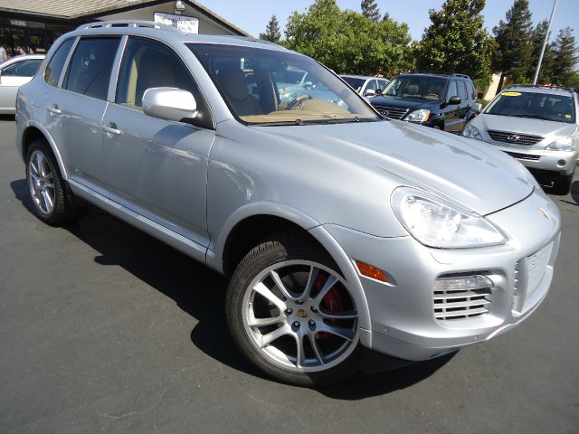 2008 PORSCHE CAYENNE TURBO AWD 4DR SUV silver preferred package -   excludes pe1 comfort seats