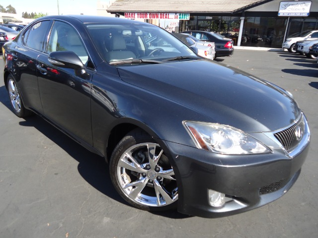 2009 LEXUS IS 250 IS 250 6-SPEED SEQUENTIAL smoky granite mica navigation back-up camera bluetooth