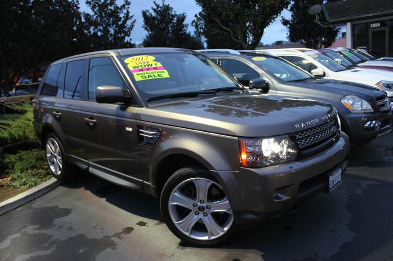 2012 LAND ROVER RANGE ROVER SPORT HSE LUX 4X4 4DR SUV nara bronze clean carfax  1 owner  n