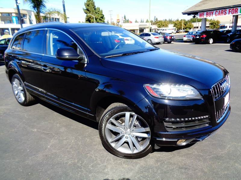 2013 AUDI Q7 30 QUATTRO TDI PRESTIGE AWD 4DR black 1 owner  california car  prestige packa
