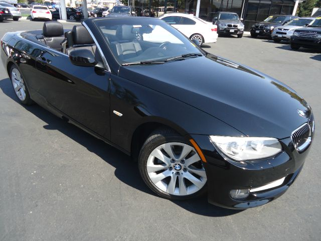 2011 BMW 3 SERIES 328I 2DR CONVERTIBLE SULEV black 1 owner california car comes with navigation