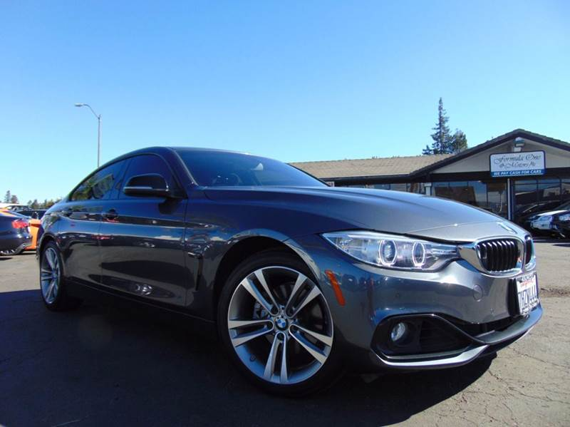 2015 BMW 4 SERIES 428I GRAN COUPE 4DR SEDAN SULEV black 2-stage unlocking doors abs - 4-wheel ac