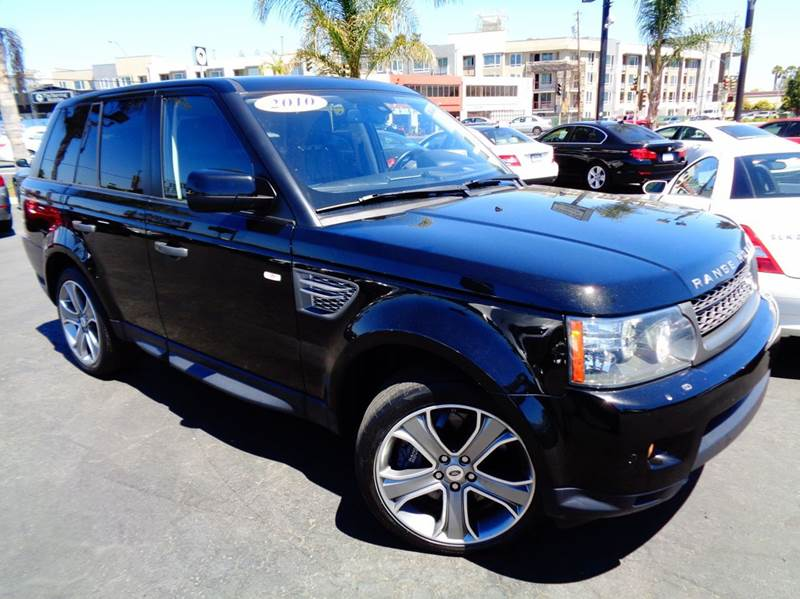 2010 LAND ROVER RANGE ROVER SPORT SUPERCHARGED 4X4 4DR SUV black 4wd selector - electronic hi-lo