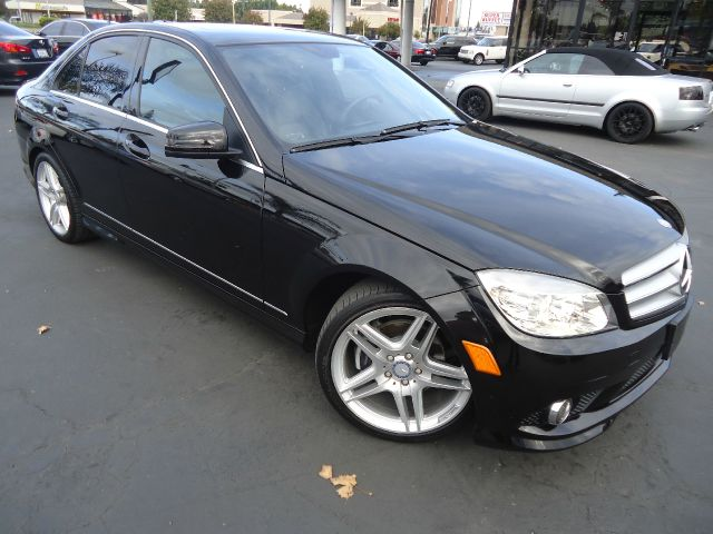2010 MERCEDES-BENZ C-CLASS C300 SPORT 4DR SEDAN black stylish reliable and gas efficient low