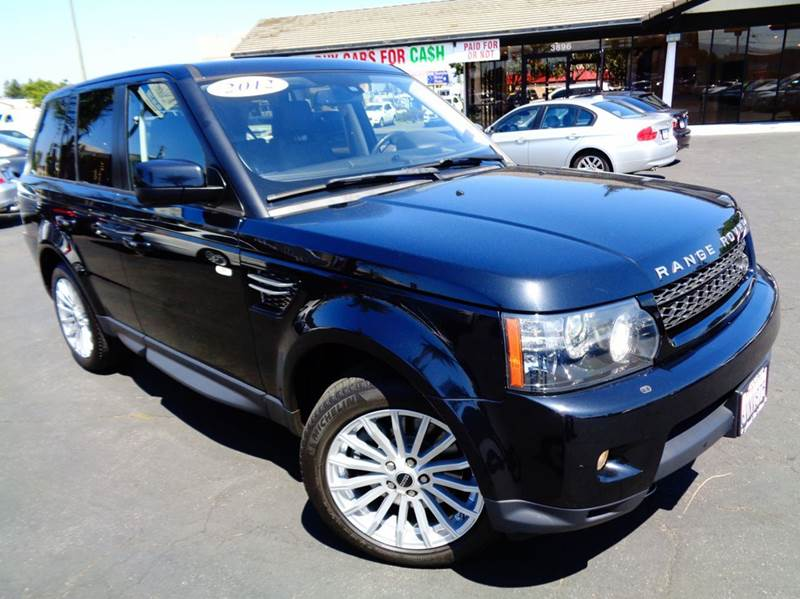 2012 LAND ROVER RANGE ROVER SPORT HSE 4X4 4DR SUV black clean carfax clean california vehicle
