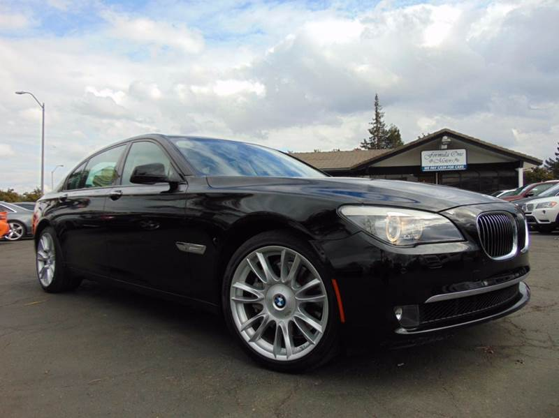 2011 BMW 7 SERIES 750LI 4DR SEDAN black 2-stage unlocking doors abs - 4-wheel active head restra
