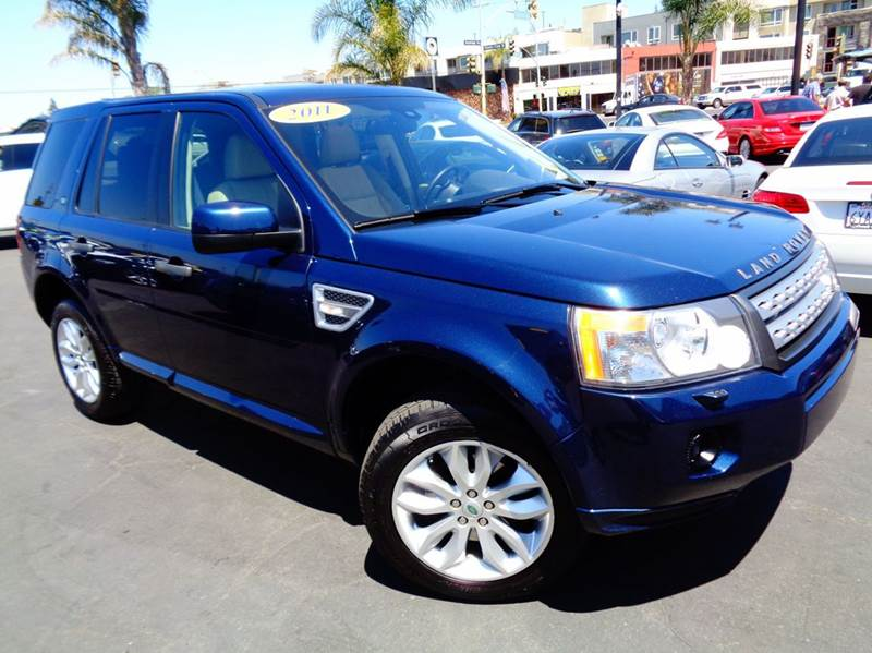 2011 LAND ROVER LR2 BASE AWD 4DR SUV blue 2-stage unlocking doors 4wd selector - electronic 4wd