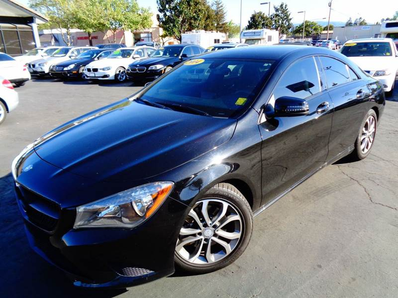 2014 MERCEDES-BENZ CLA CLA250 4DR SEDAN black 1 owner this vehicle comes with the remainder of