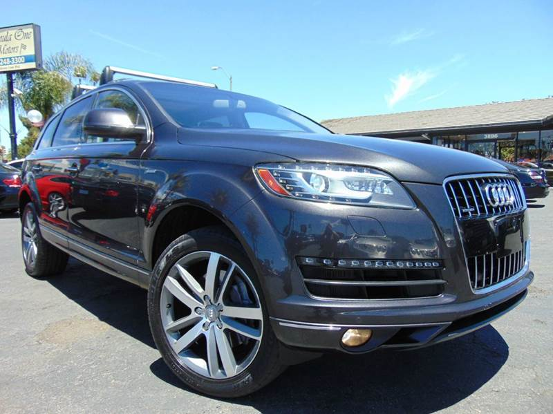 2014 AUDI Q7 30T QUATTRO PREMIUM PLUS AWD 4D gray one ownerclean carfax reportcalifornia