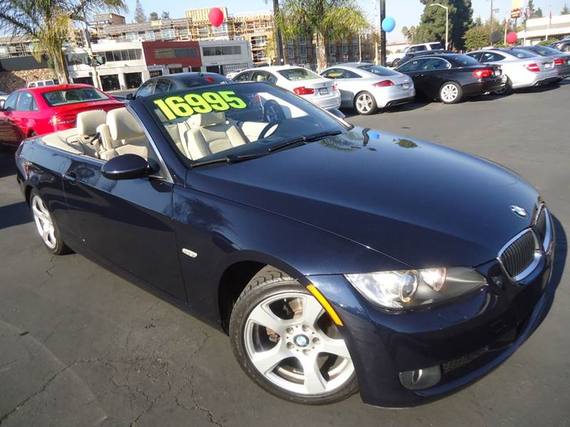 2009 BMW 3 SERIES 328I 2DR CONVERTIBLE SULEV blue clean carfax hard top convertible premiu