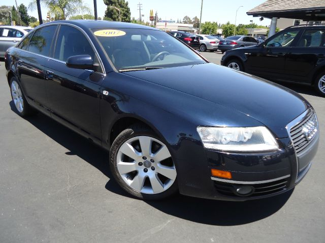 2007 AUDI A6 32 QUATTRO AWD 4DR SEDAN blue one owner solid performance an elegant cabin and