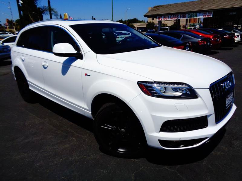 2011 AUDI Q7 30T QUATTRO S LINE PRESTIGE AWD white 2-stage unlocking doors 4wd type - full time