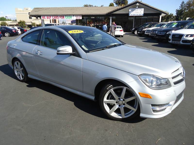 2013 MERCEDES-BENZ C-CLASS C250 2DR COUPE silver 1 owner clean carfax low milescoupe wi