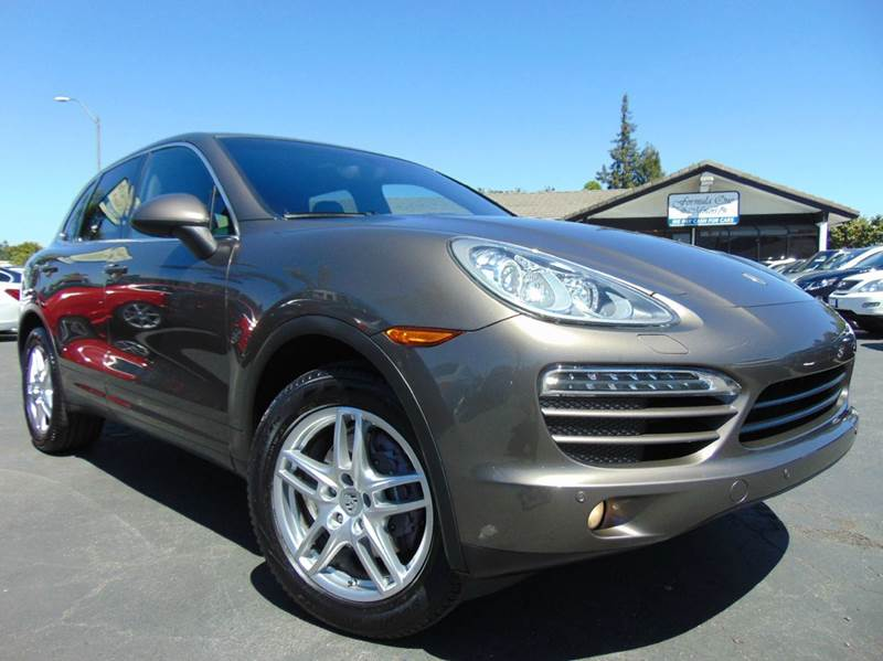 2012 PORSCHE CAYENNE TIPTRONIC AWD 4DR SUV umber metallic one ownerclean carfaxcalifornia