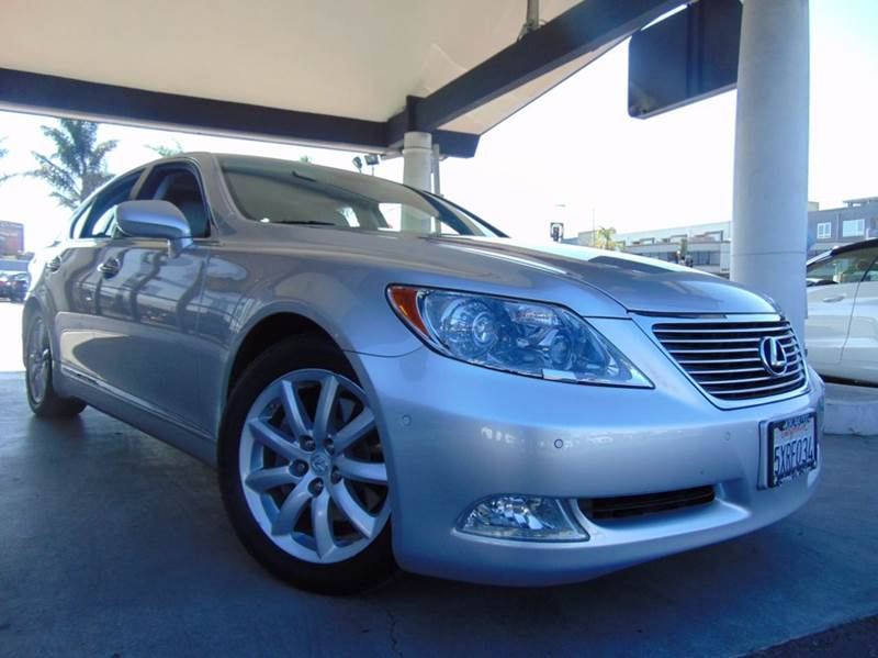 2007 LEXUS LS 460 BASE 4DR SEDAN silver 2-stage unlocking doors abs - 4-wheel accident avoidance