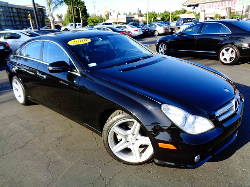2009 MERCEDES-BENZ CLS CLS550 4DR SEDAN black beautiful luxury loaded  navigation system