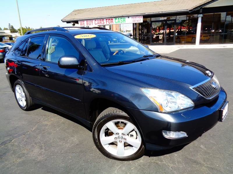 2007 LEXUS RX 350 BASE AWD 4DR SUV gray 2-stage unlocking doors 4wd type - on demand abs - 4-wh