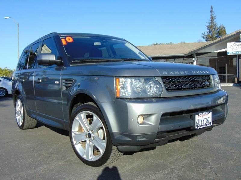2010 LAND ROVER RANGE ROVER SPORT HSE 4X4 4DR SUV stornaway gray california vehiclenavigation