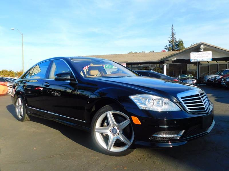 2011 MERCEDES-BENZ S-CLASS S 550 4MATIC AWD 4DR SEDAN black 2-stage unlocking doors 4wd type - fu