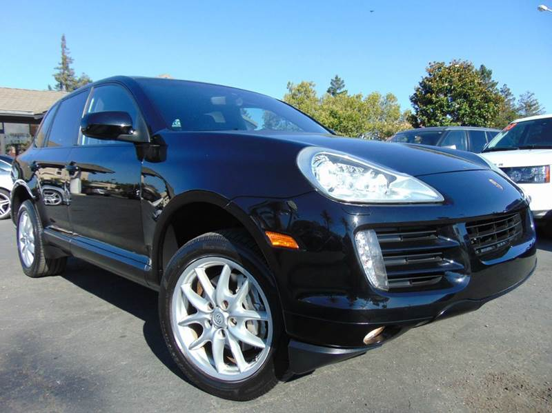 2008 PORSCHE CAYENNE S AWD 4DR SUV black 2-stage unlocking doors 4wd selector - electronic 4wd