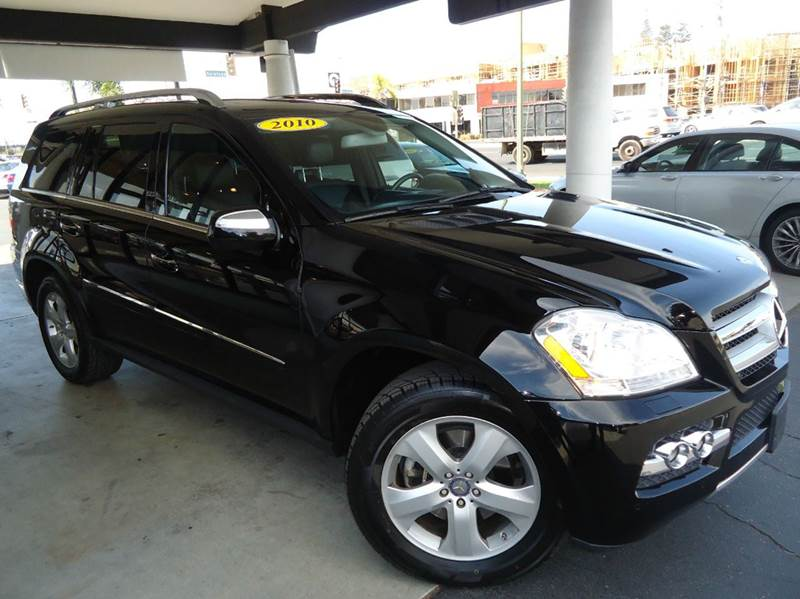 2010 MERCEDES-BENZ GL-CLASS GL450 AWD 4MATIC 4DR SUV black 2-stage unlocking - remote 4wd type -