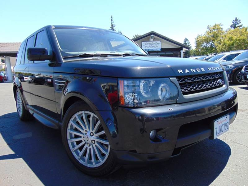 2011 LAND ROVER RANGE ROVER SPORT HSE 4X4 4DR SUV black clean carfax reportcalifornia vehicle