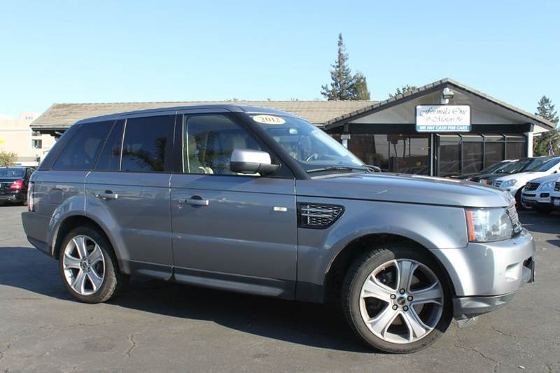 2012 LAND ROVER RANGE ROVER SPORT HSE LUX 4X4 4DR SUV gray this range rover is loaded top to botto