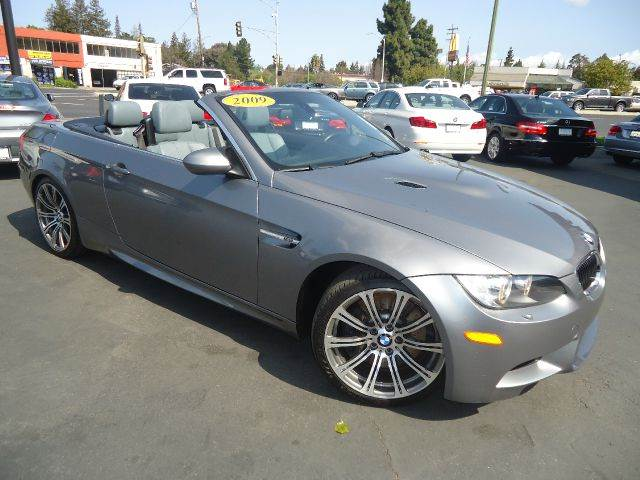 2009 BMW M3 BASE 2DR CONVERTIBLE silver loaded hardtopconvertable sport m3premium pack