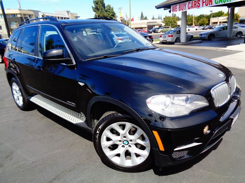 2013 BMW X5 XDRIVE35I SPORT ACTIVITY AWD 4DR black clean carfax california vehicle  loaded