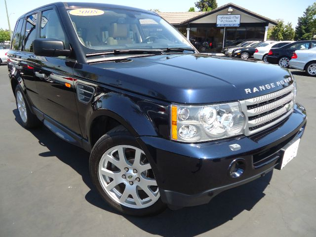 2008 LAND ROVER RANGE ROVER SPORT HSE dark blue one ownerlocal car with clean carfax  all power