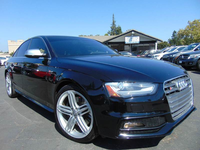 2013 AUDI S4 30T QUATTRO PREMIUM PLUS AWD 4D black clean carfax reportcalifornia vehicle2