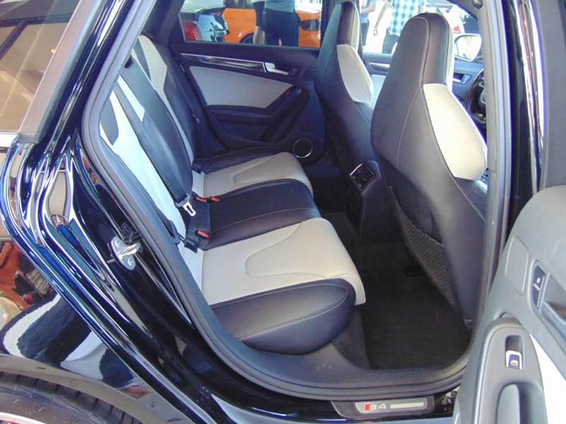 2013 AUDI S4 3.0T QUATTRO PREMIUM PLUS AWD 4D