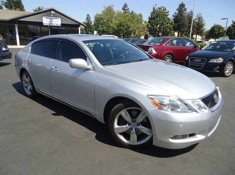 2007 LEXUS GS 350 BASE 4DR SEDAN silver 2-stage unlocking - remote abs - 4-wheel air filtration