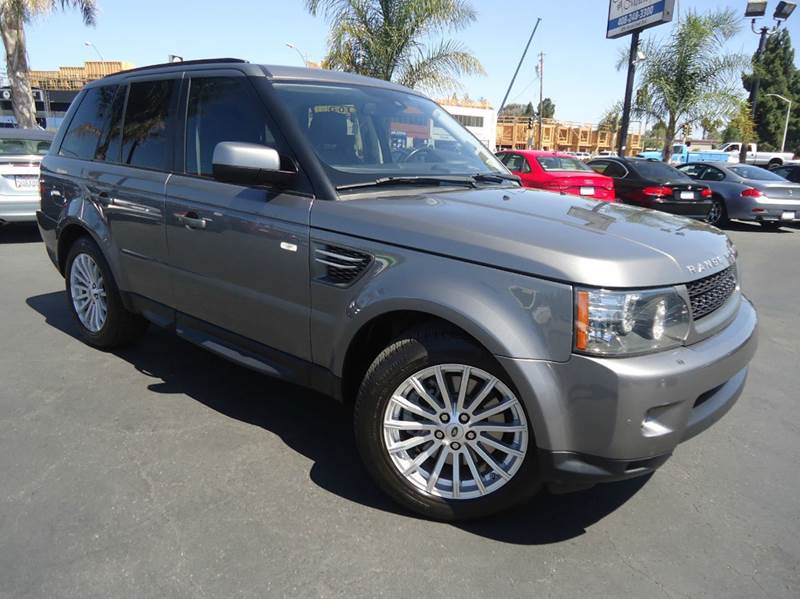 2010 LAND ROVER RANGE ROVER SPORT HSE 4X4 4DR SUV gray this is a 1 owner clean title clean car fax