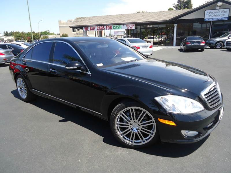 2007 MERCEDES-BENZ S-CLASS S550 4DR SEDAN black flagship of mercedes benz 1 owner clean carfax