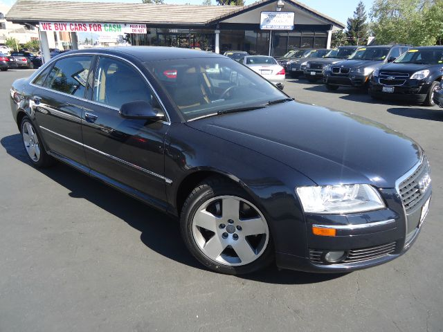 2007 AUDI A8 L QUATTRO AWD 4DR SEDAN blue fully loaded navigation full leather quattr