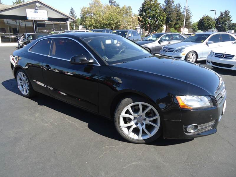 2012 AUDI A5 20T QUATTRO PREMIUM AWD 2DR COU black 1 owner clean carfaxcomes with the remaind