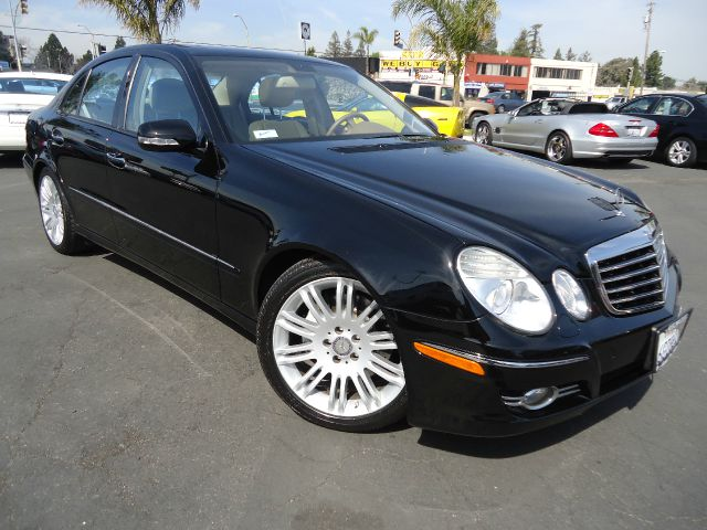 2008 MERCEDES-BENZ E-CLASS E350 LUXURY black one owner clean car fax california car in great condi