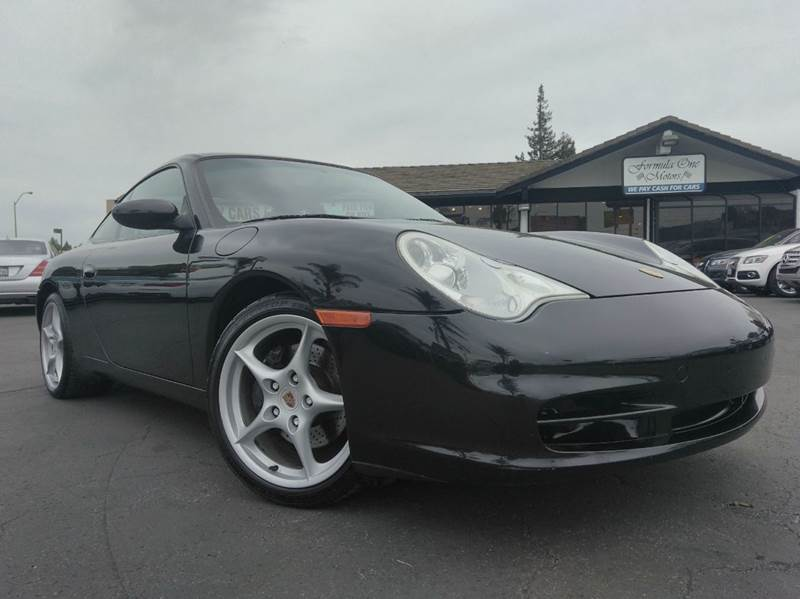 2003 PORSCHE 911 CARRERA 2DR COUPE black clean carfaxcalifornia vehicleautomatic wtiptro