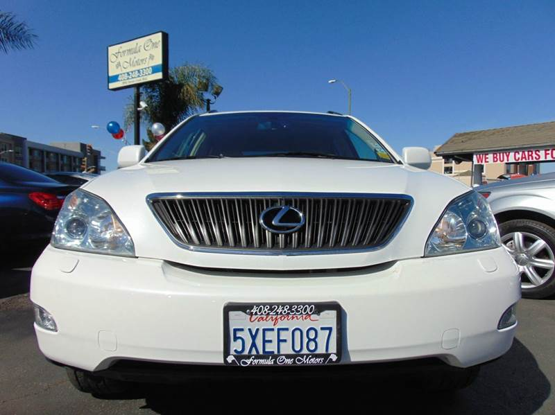 2007 LEXUS RX 350 BASE 4DR SUV white one ownerclean carfaxcalifornia vehicleroutinely