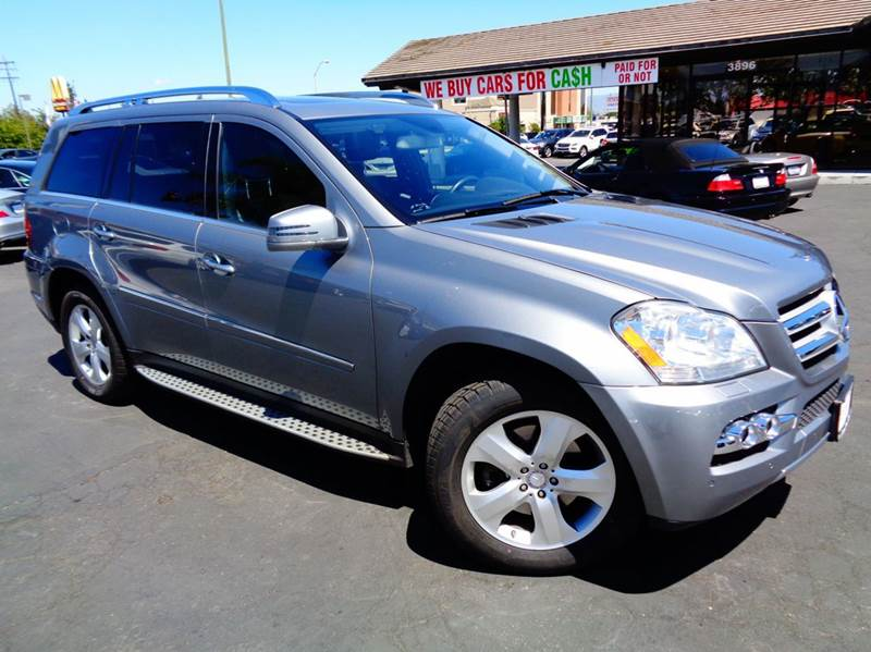 2011 MERCEDES-BENZ GL-CLASS GL450 4MATIC AWD 4DR SUV gray 2-stage unlocking doors 4wd type - full