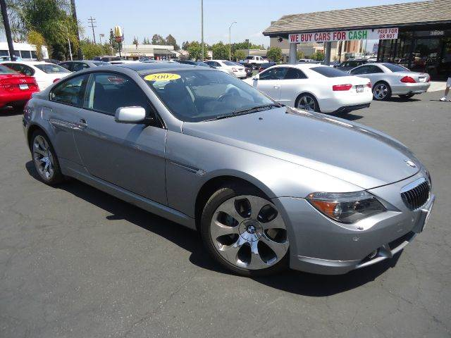 2007 BMW 6 SERIES 650I 2DR COUPE space gray fully loaded sport packagepremium package