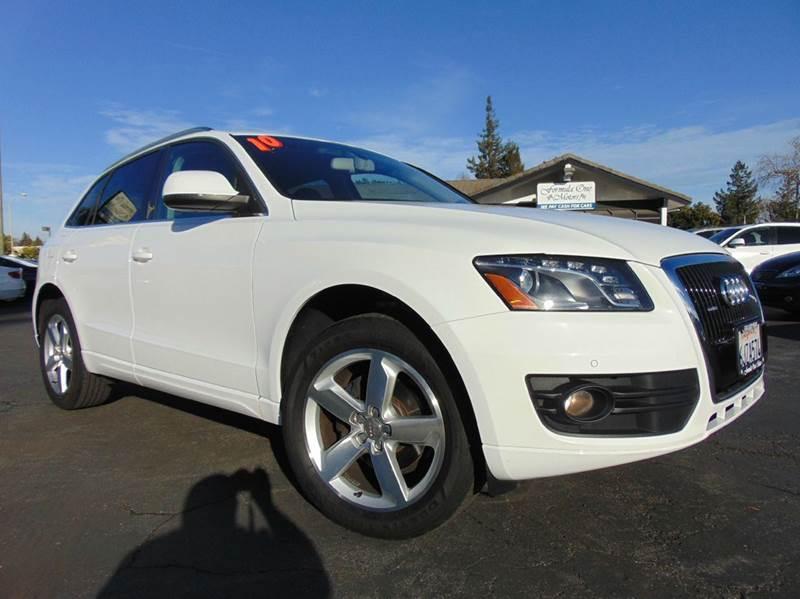 2010 AUDI Q5 32 QUATTRO PREMIUM PLUS AWD 4DR white clean carfax premium plus package quatt