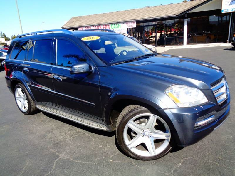 2011 MERCEDES-BENZ GL-CLASS GL550 4MATIC AWD 4DR SUV gray clean carfax loaded  gl550  n