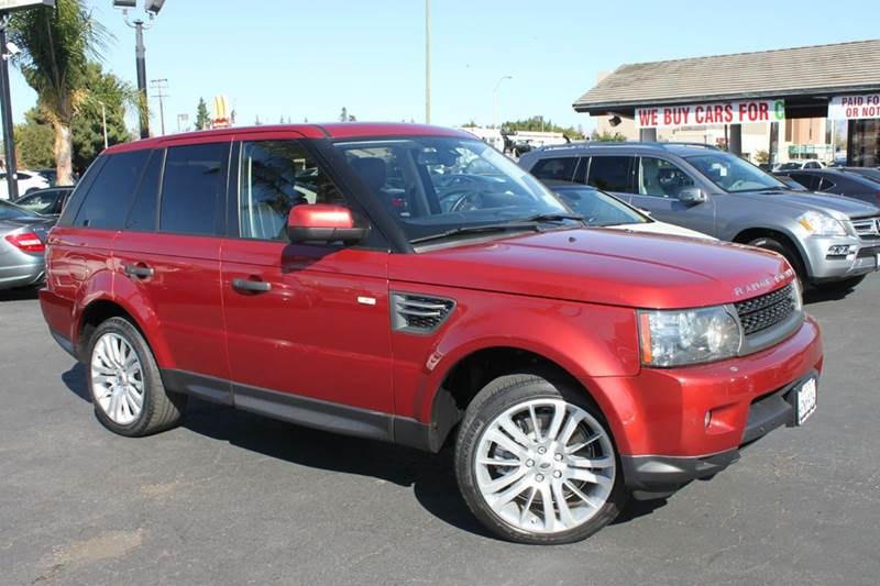 2010 LAND ROVER RANGE ROVER SPORT HSE 4X4 4DR SUV red clean carfax  1 owner  california veh