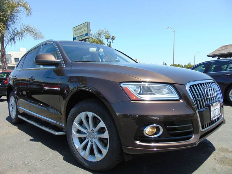 2015 AUDI Q5 20T QUATTRO PREMIUM PLUS AWD 4D brown one ownerclean carfaxcalifornia vehicl