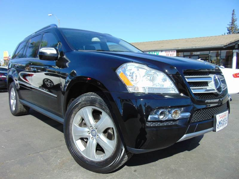 2010 MERCEDES-BENZ GL-CLASS GL 450 4MATIC AWD 4DR SUV black clean carfaxcalifornia vehicle