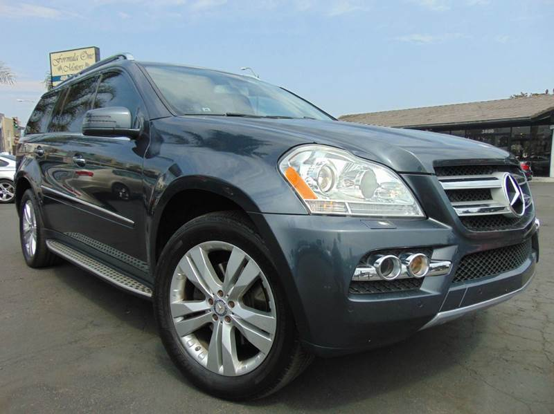 2011 MERCEDES-BENZ GL-CLASS GL 450 4MATIC AWD 4DR SUV gray loadednavigationrear view c