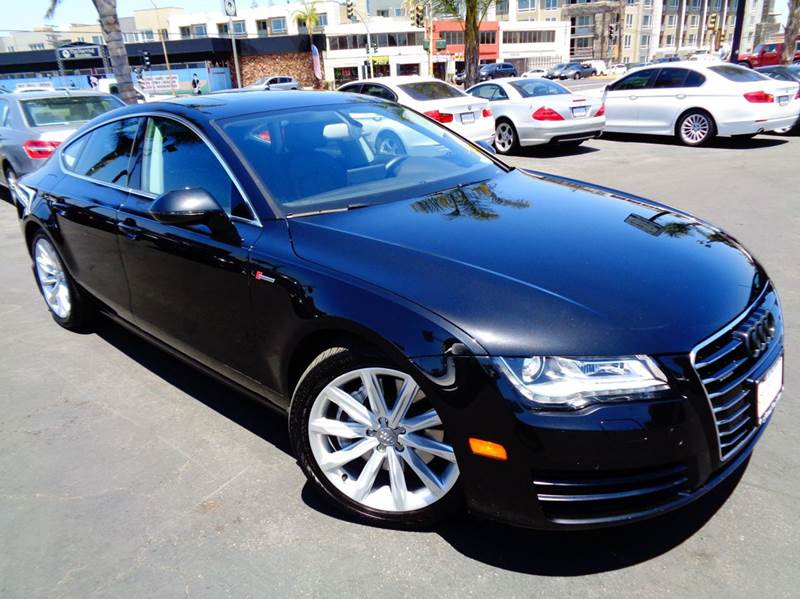 2012 AUDI A7 30T QUATTRO PREMIUM PLUS AWD 4D black clean carfax one f a kind  audi a7 sl